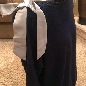 Lauren Conrad sparkly dark blue Woman's XL